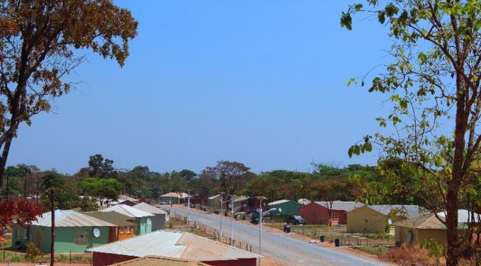 village near FQM