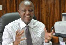 Minister Felix Mutati from Zambia