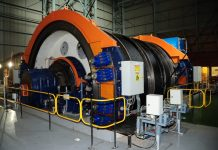 mining cable winding gear