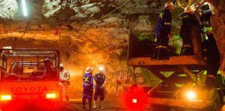Operation at Chibuluma Mine underground