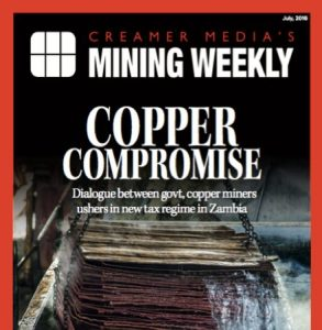 Creamer Media's Mining Weekly July 2016