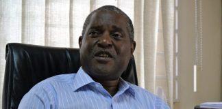 A picture of Minister John Kasanga