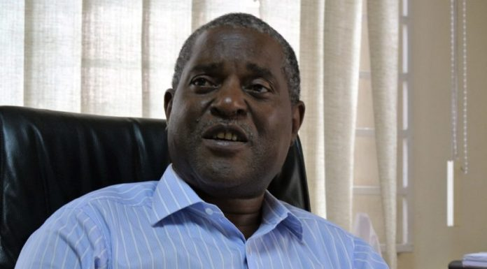 A picture of Minister John Kasanga