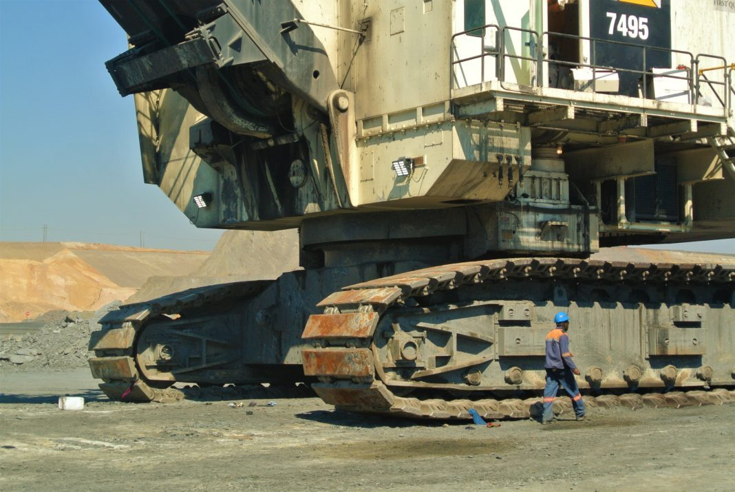 Employment in the mining industry