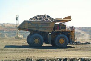 Massive truck at Sentinel Mine at North-Western province