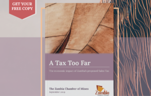 Chamber sales tax VAT report