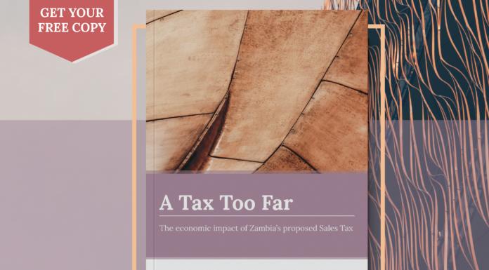 Chamber sales tax VAT report